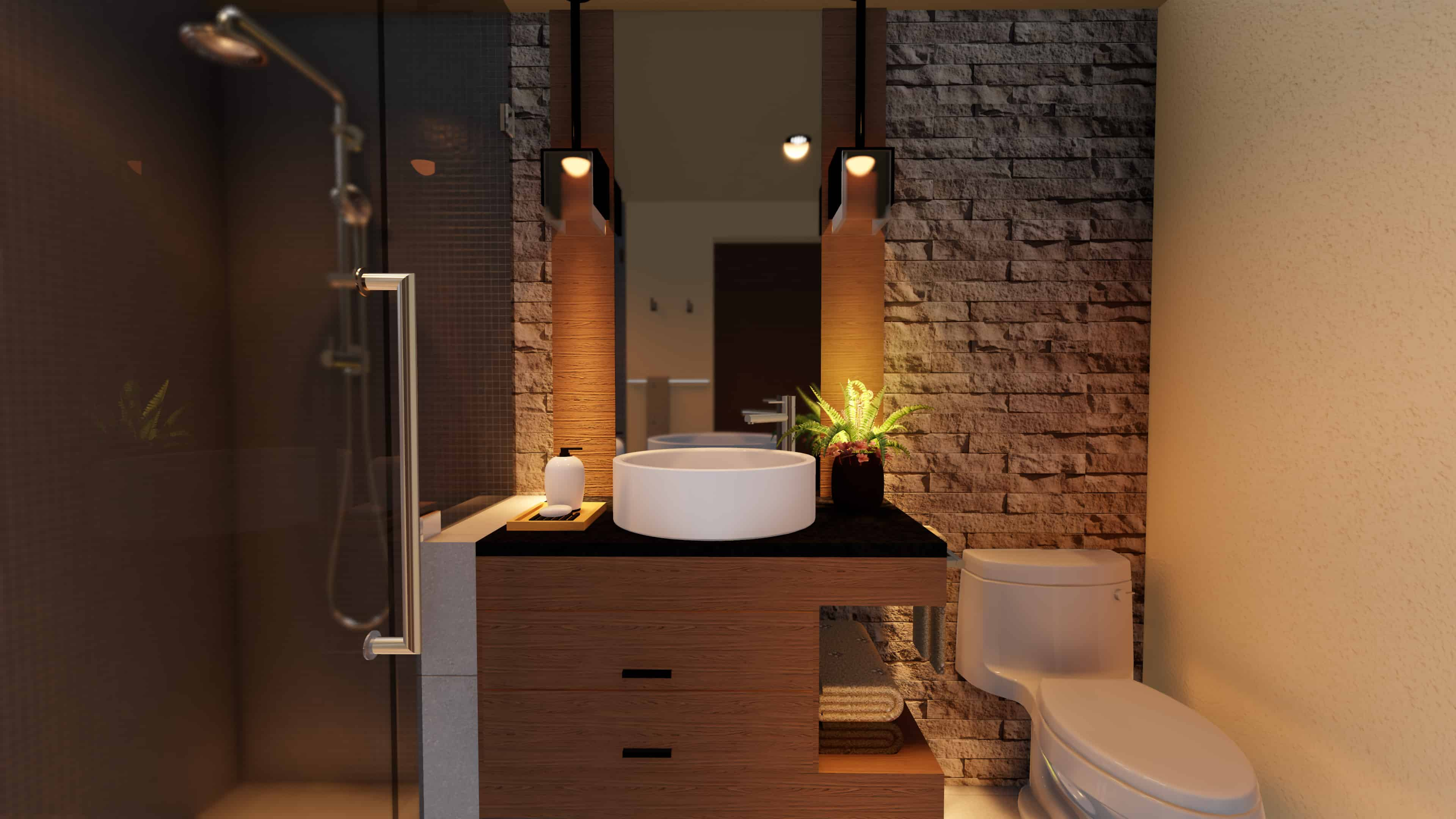 modern bathroom design company los angeles - Bathroom Design Company